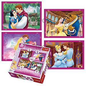 Trefl-4-in-1-35-48-54-70-Pieza-Ninas-Infantil-Disney-Princesas