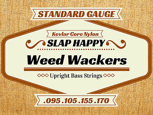 Slap Happy Weedwackers Synthétique Gut Stand Up Contrebasse Weedwacker Cordes-afficher Le Titre D'origine Tiitadqy-07182954-569092711