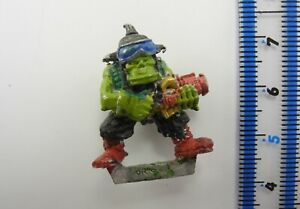 ORK BOY (f) Metal Rogue Trader Space Orks Boyz Army Warhammer 40K 1980s 41