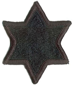 6TH INFANTRY DIVISION PATCH SUBDUED BDU