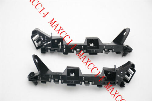 A Pair FRONT BUMPER BRACKET HOLDER SUPPORT For 2015-2017 Honda fit