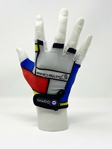 La Vie Claire Replica Cycling Gloves Retro Gloves Vintage Cycling Gloves