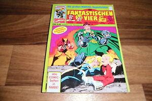 Marvel-praesentiert-die-FANTASTISCHEN-VIER-34-Taschenbuch-von-Condor-1992