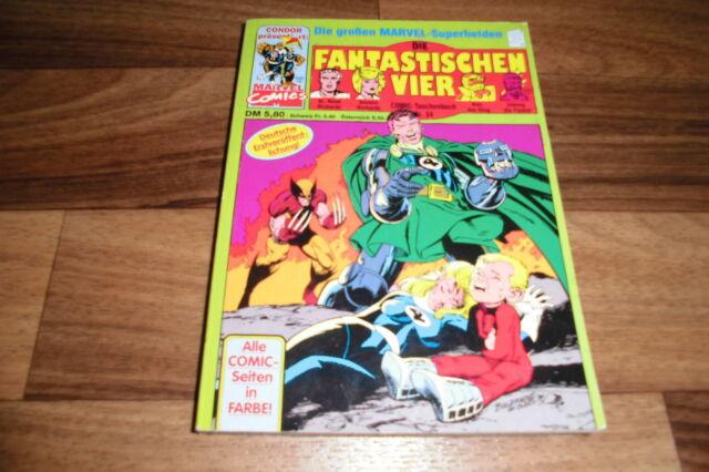 Marvel präsentiert:  die FANTASTISCHEN VIER  # 34 -- Taschenbuch von Condor 1992