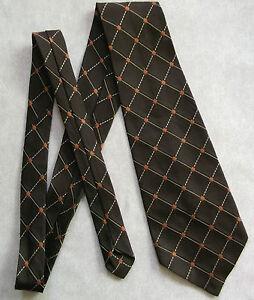 Alerte Vintage Cravate Homme Large Cravate Rétro Fashion 1970 S Marron Foncé-afficher Le Titre D'origine Dans Beaucoup De Styles
