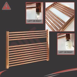 900mm-w-x-600mm-h-Straight-Copper-Electric-Heated-Towel-Rail-Radiator-300W