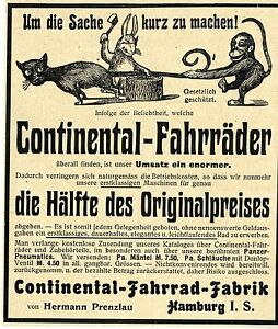 Continental-Fahrad-Fabrik-Hermann-Prenzlau-Hamburg-Historische-Annonce-1904