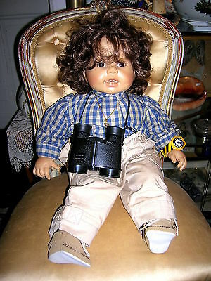 57cm Bringing More Convenience To The People In Their Daily Life Dolls Useful Seltene Künstlerpuppe Brigitte Leman 1987 Max Zapf Ca Art Dolls-ooak