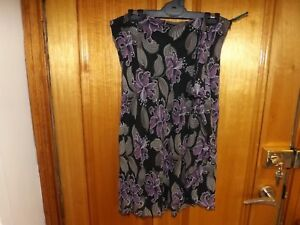 Laura-Ashley-100-Silk-Floral-Skirt-Size-12