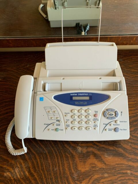 Brother IntelliFax-775 Fax Machine User Manual | Manual Device