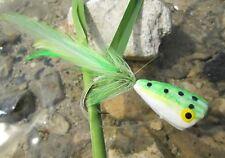 Gilchrist Fliegen Fliegenfischen. 3 Stück Poppers. Hakengröße 4