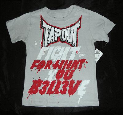 TAPOUT WHITE T-SHIRT Boys Size XL ~ NWT