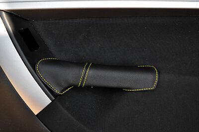 Jaune stitch fits Citroen C4 Grand Picasso 2006-2013 2x poignée de porte arrière couverture