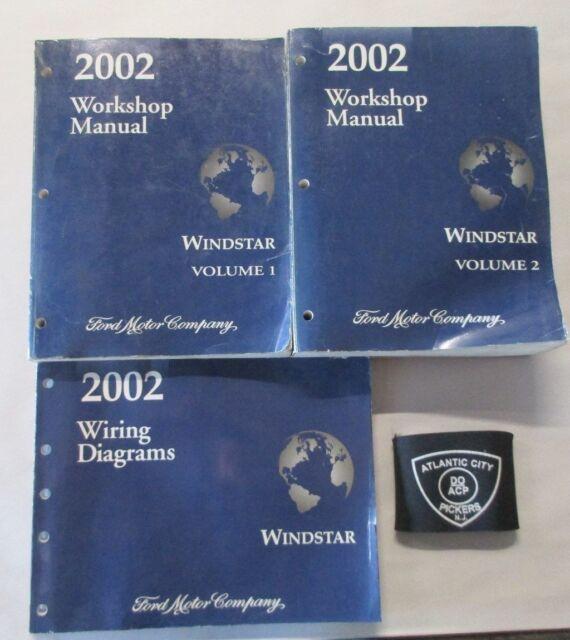 2002 Ford Windstar Service Shop Repair Manual  U0026 Wiring