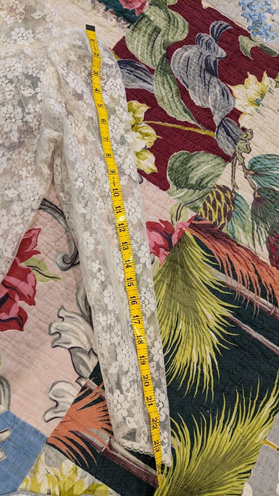 Gunne Sax vintage lace Jacket - image 6