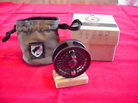 Douglas Outdoors Argus 3 1/2 In Machined Fly Reel Dark Gray Made In Usa