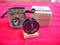 Douglas Outdoors Argus 3 1/4 In Machined Fly Reel Dark Gray Made In Usa