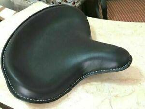 Genuine-Leather-Harley-Wla-Wlc-Vl-Ul-El-Wl-Knucklehead-Solo-Seat-Flathead-Black