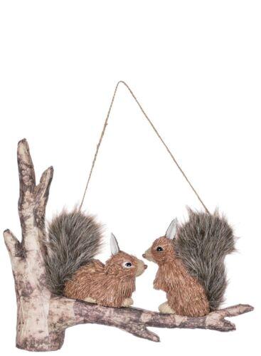Millwood Pines Brampt Squirrels Hanging Figurine