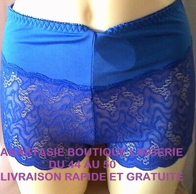 lingeriegrandestailles 44//46//48//50 femmesous-vêtement shorty//boxerdentelletaupe