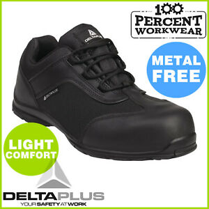 Metal-Free-Security-Detector-Lightweight-Mens-Safety-Work-Trainers-Shoes-Toe-Cap