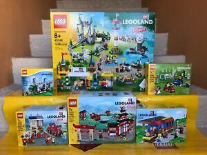 Lego City Creator Legoland 40346 Amusement Theme Park Rides Exclusive Set NEW