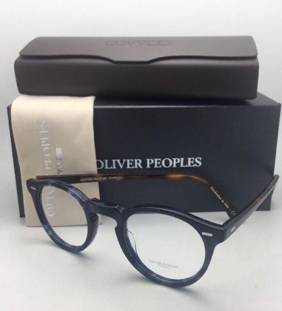 cf7f9ff7ab Oliver Peoples Eyeglasses Gregory Peck OV 5186 1569 47-23 Cobalt Tortoise  Frames for sale online