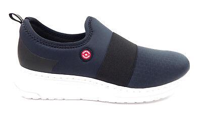 Rieker Damenhalbschuhe Slipper Sneakers, Blau Schwarz Weiß, N5051 14, Neu   eBay