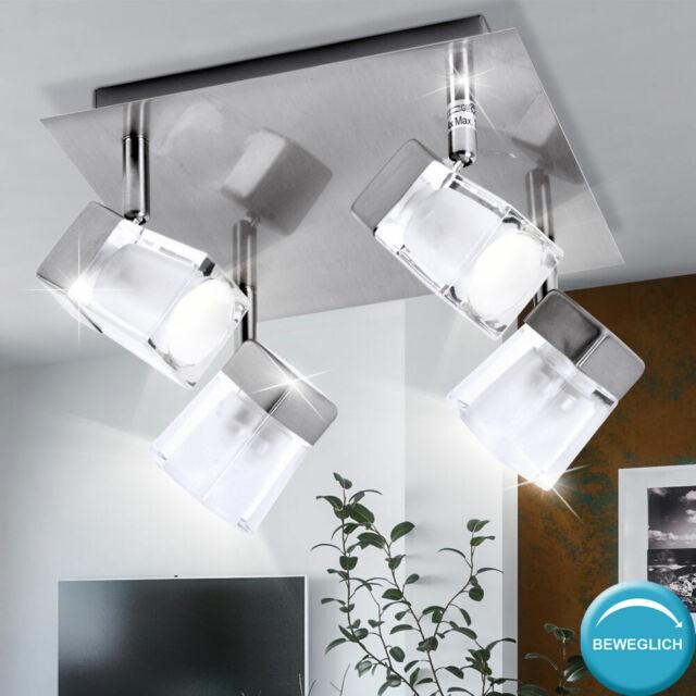 vidaXL Deckenleuchte Kugel Nickel Glas Esszimmer Lampe Leuchte Deckenlampe