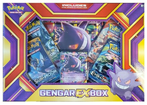 EVOLUTIONS! Pokemon tcg Gengar-EX Box Factory Sealed