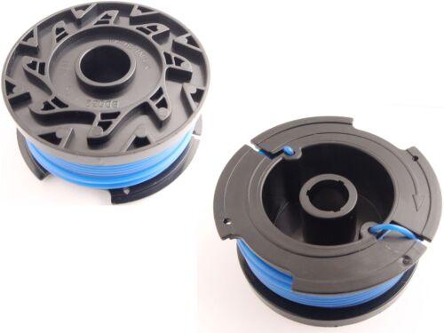passend Black/&Decker GL580 Freischneider Fadenspule 1,6mm 2er Set