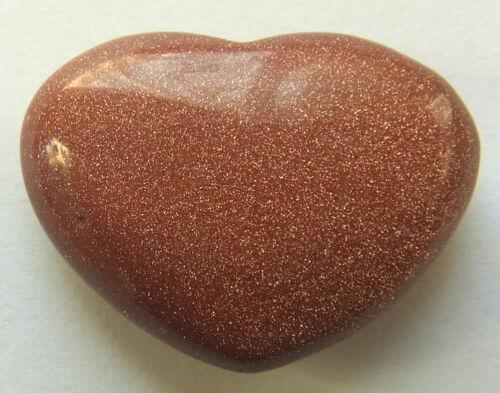 GEMSTONE PUFF HEART CRYSTAL LAPIS HOWLITE GOLD STONE OPALITE COPPER