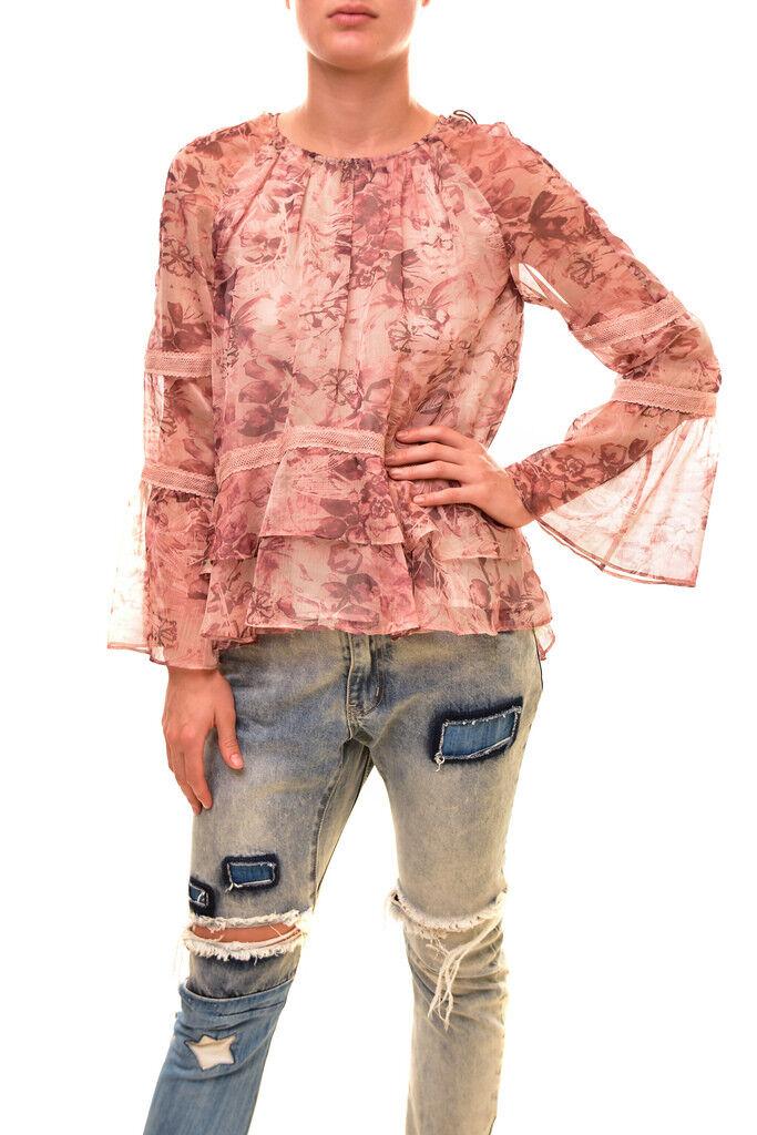 Stevie May Woherren Loose SL170518T Top Chloe Print Größe S RRP  BCF86