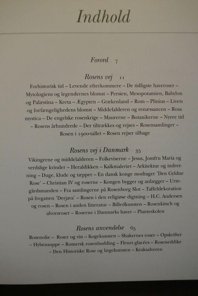 historiske roser, af torben thim, emne: hus og have