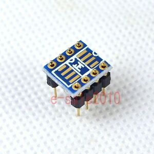2pcs-Dual-SOIC8-SOP8-to-DIP8-Adapter-Converter-PCB-Pin-to-Mono-Opamp-OPA627-P10