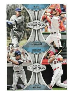 2019-Topps-Series-1-Greatness-Returns-You-Pick-Choose-Card-from-List