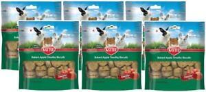 6-Pack-Kaytee-Baked-Apple-Timothy-Hay-Biscuits-Apple-Flavor-4-oz-Per-Bag