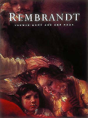 """""""VERY GOOD"""" Munz, Ludwig, Rembrandt (Masters of Art), Book"""