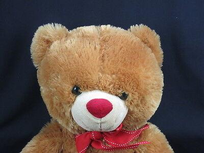 Hay Hay Chicken Stuffed Animal, Big Fluffy Cinnamon Brown Teddy Bear Red Valentine Bow Polkadot Heart Plush Cute Ebay