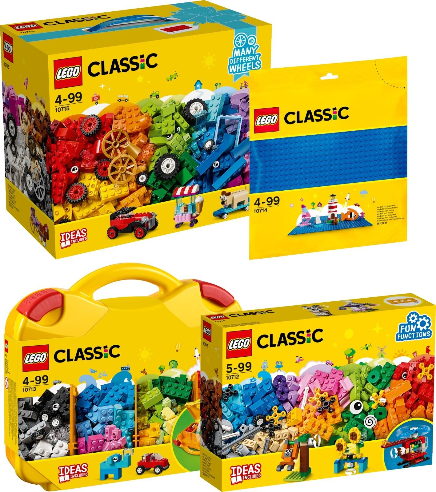 Avoir une maison, avoir de l'amour, l'amour, l'amour, as-tu LEGO Classic New Set 10715 10714 10713 10712 n2/18 9b6468