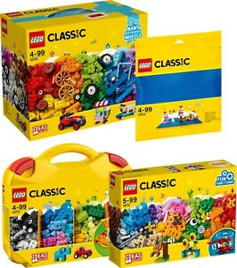 LEGO CLASSIC 900 Teile Steinebox Platte 10715 10714 10713 10712 N2/18