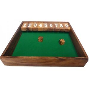 Shut the box ou ferme la boite