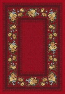 Milliken Top 30 Chauvet Currant Red Area Rug