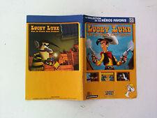 Notice/manuel Lucky Luke sur la piste des dalton pour jeu PC FR