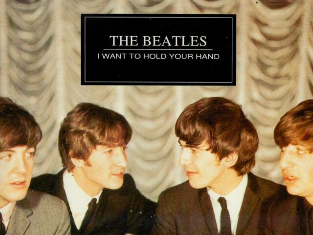 THE BEATLES - I WANT TO HOLD YOUR HAND / unsigniert 1