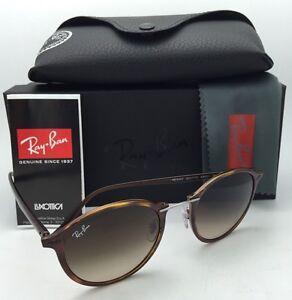 e07b31f19e36c2 New RAY-BAN Tech Series Sunglasses RB 4242 6201 13 Havana Tortoise w ...