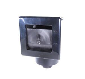 Wand-Skimmer Zulauf ca. 15 cm Teichskimmer Oberflächensauger Wandskimmer Teich