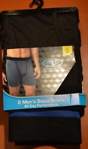 26e762841e445f Image is loading Mens-New-Underwear-Athletic-Works-Boxer-Brief-2-