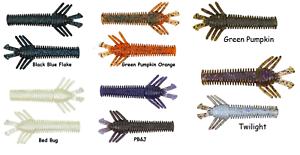 10000 Fish Sukoshi Bug Ned Rig Bait Choice of Colors