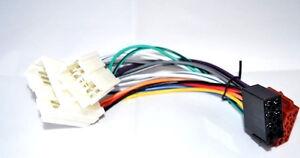 ISO-DIN-Radioadapter-Stecker-Kabel-KFZ-AutoRadio-passend-fuer-VOLVO-S90-V90